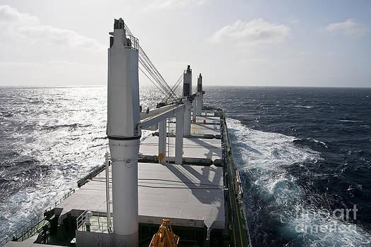 Ship Underway by Lukasz Zakrzewski