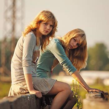 Sisters. Vera and Marina. by Evgeny Matveev