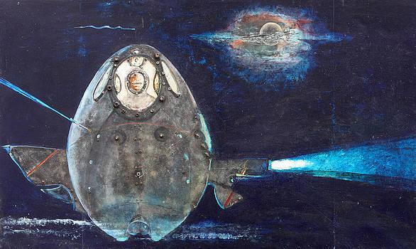Space Egg by Anne Eaton Parker