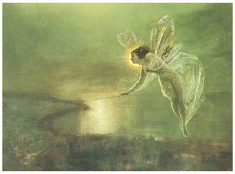 John Atkinson Grimshaw - Spirit of the Night