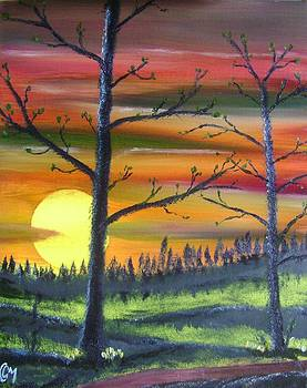 Spring Sunrise by Charles and Melisa Morrison