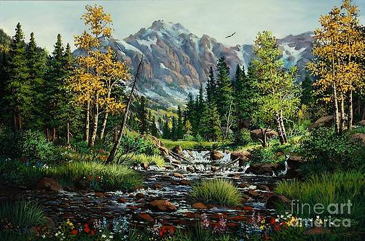 Springtime  in the Rockies by W  Scott Fenton