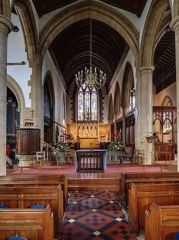 St Bartholomews Church at Royal Wootton Bassett by Nick Temple-Fry