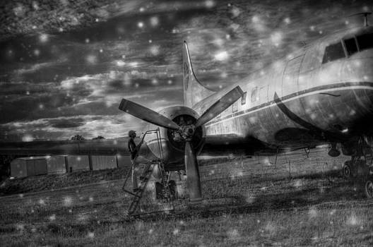 Starry Plane by Maxemo LaCrone