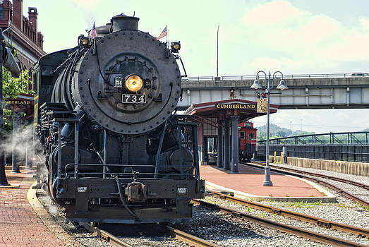 Steam on the Cumberland by Dave Dick
