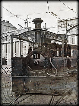 Steam tram nr.11 by Leopold Brix