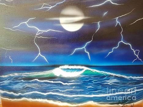 Stormy Night by William Hovis
