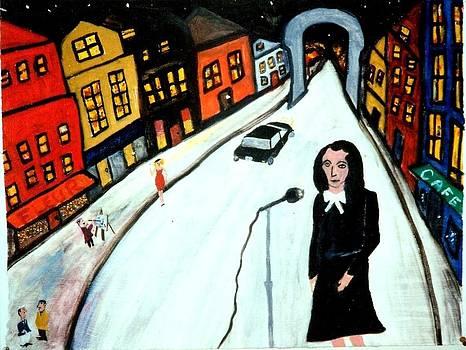 Street Singer by Eliezer Sobel