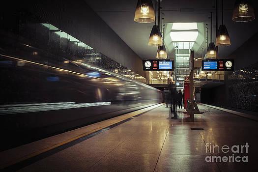 Subway Station by Martin Dzurjanik