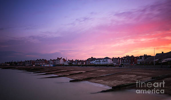 Suffolk Sunset by Andrew  Michael