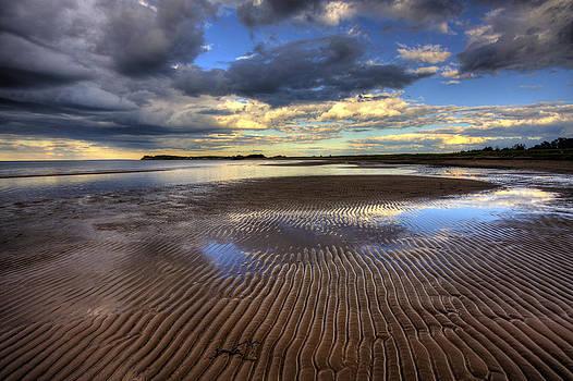 Sunset at Waterside by Allan MacDonald