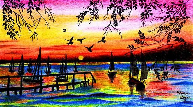 Sunset by Monica  Vega