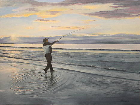 Surf Fishing by Ken Ahlering