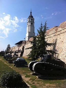 Tanks in Belgrade by Chris Wolf