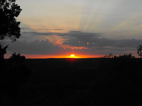 Texas Sunset by Rebecca Cearley