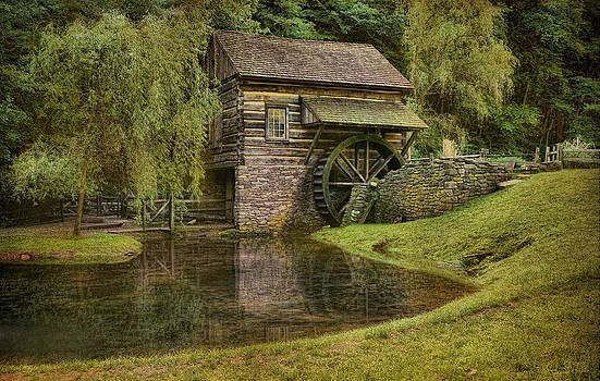 The Bromley Mill At Cuttalossa Farm by Pat Abbott