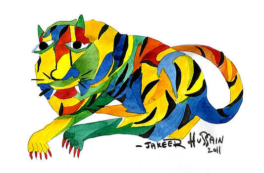 The New Tiger by Jakeer Hussain