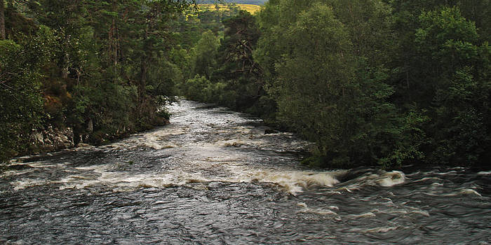 The River Affric by Steve Watson
