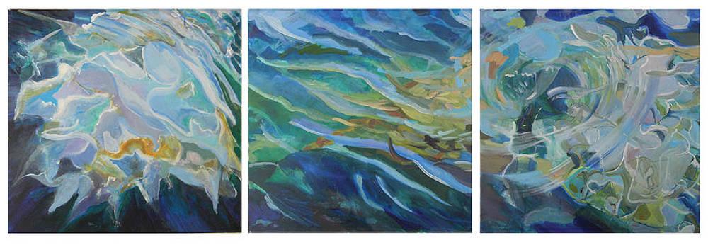 The Water by Otilia Gruneantu Scriuba