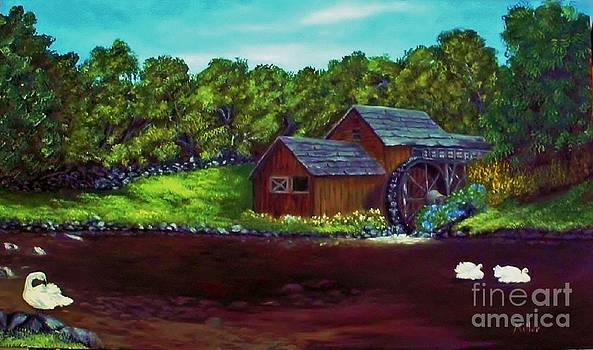 Peggy Miller - The Water Wheel