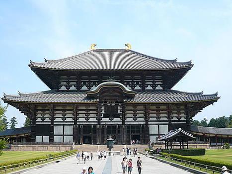 Toudai-ji Temple by Chris Wolf