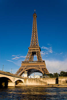 Tower on the Seine by Jen Morrison