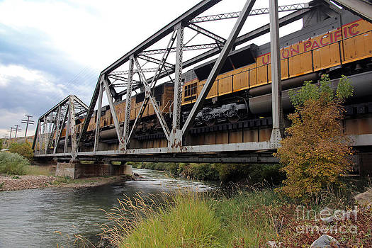 Train Over Troubled Water  by Carla   Stanley