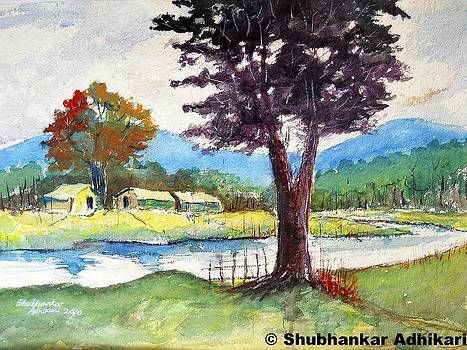 Tranquil Nature by Shubhankar Adhikari