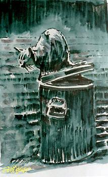 Trashcan Tom by Seth Weaver