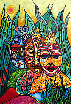 Tres Masques by Cola Smith