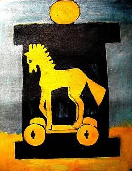 Trojan Horse by Elena Buftea