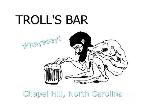 Troll's Bar Chapel Hill NC by Joan Meyland