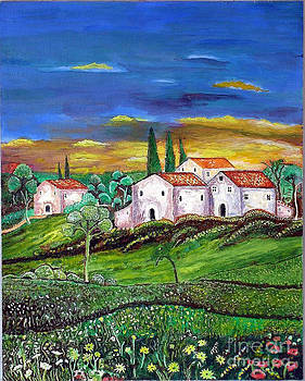 Tuscany by Kostas Dendrinos