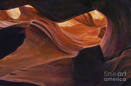 Upper Slot Canyon by LeRoy Jesfield