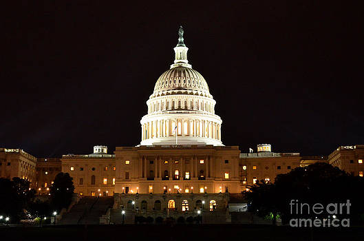 Pravine Chester - US Capitol at Night