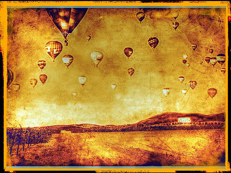 Vineyard Hot Air Balloon Parade by Kevin Moore