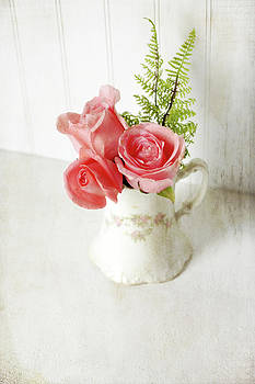 Vintage Roses by Sherry Hahn