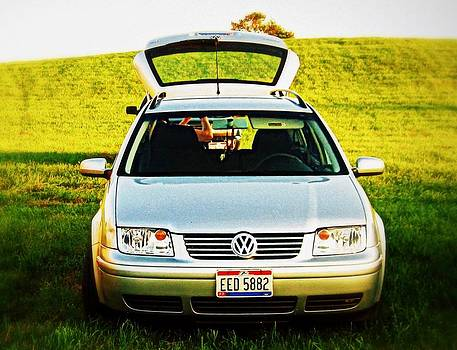 Volkswagen Love by Andrea Dale