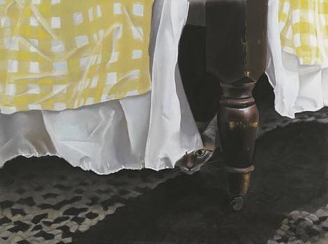 Waiting for Mom by Bernadette Kazmarski