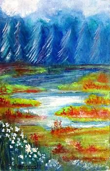 Wasatch Mountains by Carol Allen Anfinsen