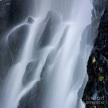BERNARD JAUBERT - Waterfall of Vaucoux. Puy de Dome. Auvergne. France