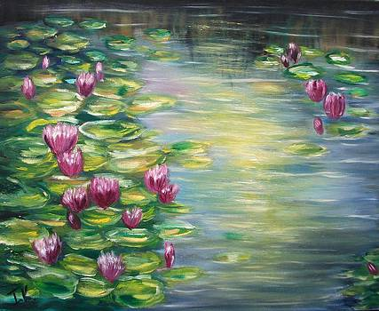 Waterlilies by Irina Kalinkina