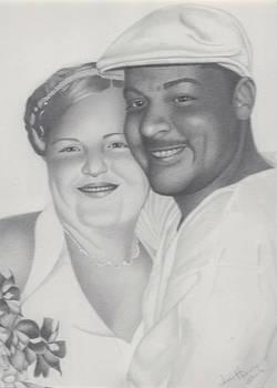Wedding Couple by Lee Herman