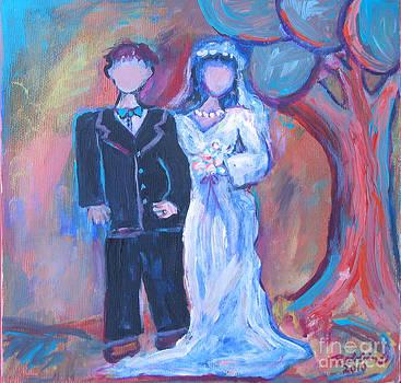 Wedding day by Marlene Robbins