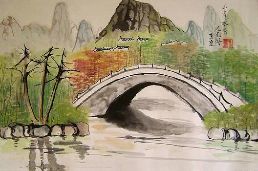 White Bridge by Lian Zhen