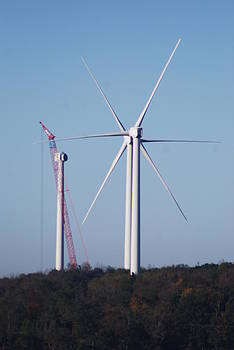 Wind Turbine by David  Nadeau