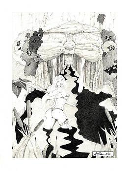 Wolf Cave by Allen Klein