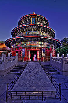 World Showcase China HDR by Jason Blalock