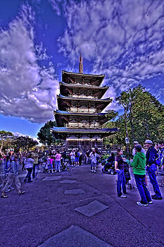 World Showcase Japan HDR by Jason Blalock