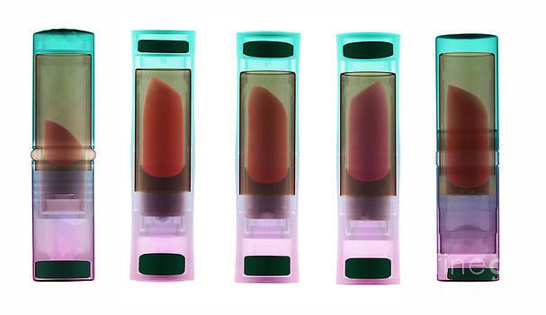 Ted Kinsman - X-ray Of Lipsticks